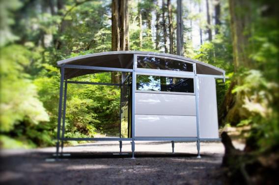 AbleNook Mini Modular House Outdoors