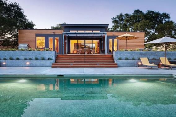 Blu Homes Breezehouse Rear Elevation