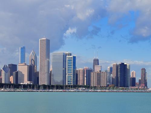 chicago skyline shutterstock_131631212