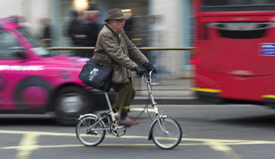 Bicycling in London