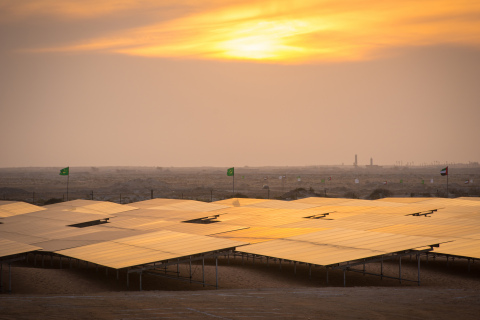 Africa's largest solar photovoltaic power plant located in Mauritania. (Photo Credit: Clement Tardif)