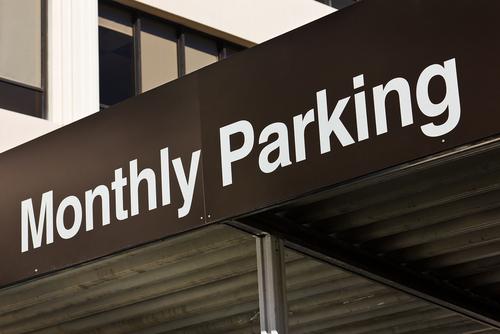 parking sign shutterstock_133238705