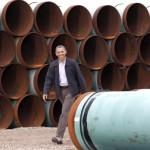 "President Obama has said that the building of the full pipeline would be approved only if ""it doesn't significantly exacerbate the problem of carbon pollution."" Photo credit:"