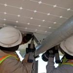 Workers at the 250-megawatt California Valley Solar Ranch. Photo credit: SunPower