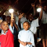 Nokero's lights are aimed at eliminating kerosene as a lighting source for the impoverished. Photo credit: Cheyenne Ellis