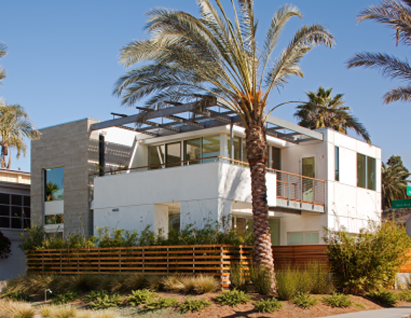 La jolla home receives leed platinum certification at leed for Leed certification for homes