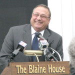 Maine Gov. Paul LePage, who once told the president to