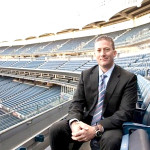 Doug Behar, vice president of stadium operations for the New York Yankees, has become a league leader in environmental sustainability. Photo credit: Natural Resources Defense Council