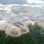 Mountaintop removal coal mining. Photo credit: Vivian Stockman / Ohio Valley Environmental Coalition