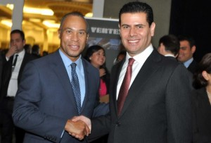 Governor Deval Patrick of Massachusetts & Governor Michael Alejandro Alonso Reyes of Zacatecas, Mexico