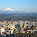 Portland, OR has developed incentives, training and regulations to help sustainable construction firms grow, while a pilot program called Clean Energy Works Portland employed 400 people to reduce home energy use, reducing carbon emissions by 1,400 metric tons per year. Photo credit: Thinkstock via MIT