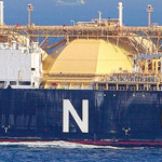Liquified Natural Gas (LNG) Tanker. Photo credit: FrackCheckWV