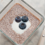Chia seed pudding. Photo courtesy of Shutterstock