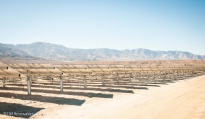 Exosun solar trackers Lone Valley