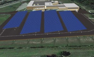 Lockheed Martin solar array
