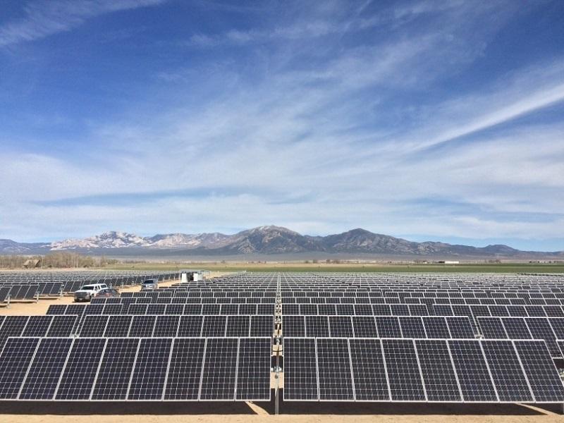 SunEdison Solar Plant
