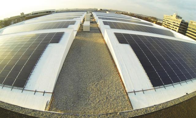 Martifer Solar Belgium install