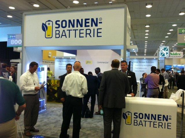 Sonnen Batterie booth intersolar