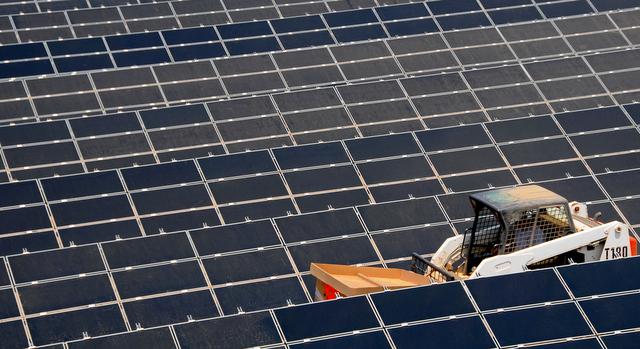 mosaic solar cells
