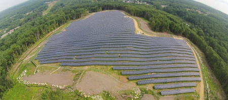 Charlton solar project of the year