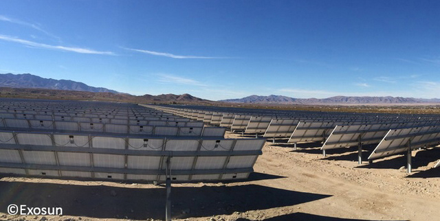 Exosun_ExotrackHZ_solartracker_desert_land